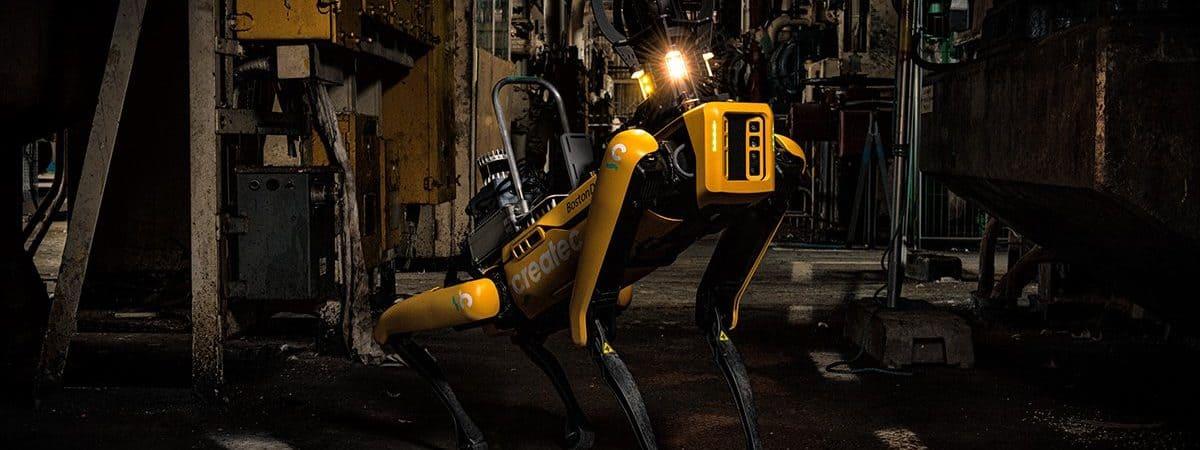 Cão-robô Spot 10-08-21