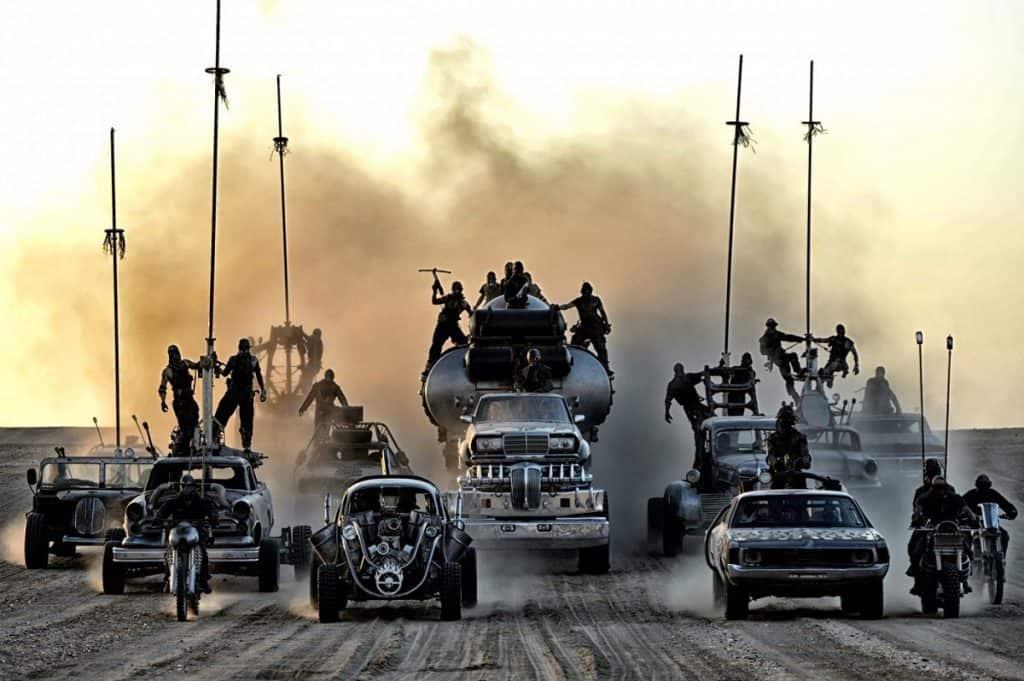 Carros de Mad Max Estrada da Fúria