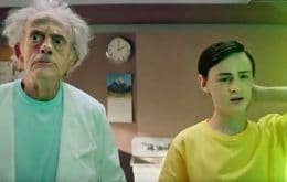 'Rick and Morty' ganha comercial live action com Christopher Lloyd e Jaeden Martell