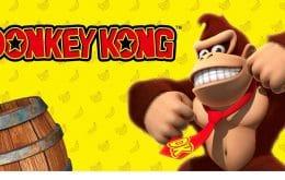 'Donkey Kong' terá área temática no Super Nintendo World