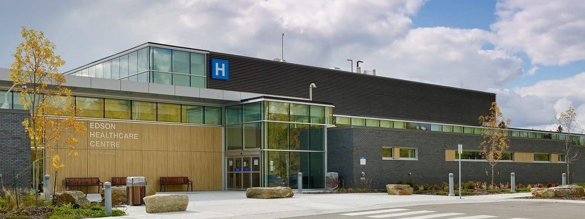 Fachada do Edson Healthcare Centre