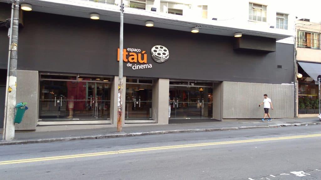 Frente do Espaço Itaú de Cinema da Rua Augusta, em São Paulo