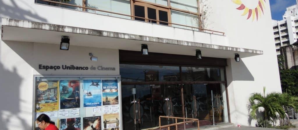 Frente do Espaço Itaú de Cinema Glauber Rocha, em Salvador