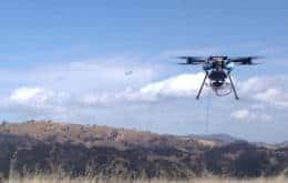 Drones da AT&T usados para reestabelecer 4G após passagem do furacão Ida