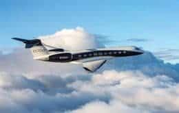 Maior avião executivo do mundo bate recordes de velocidade