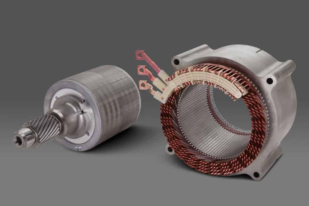 Motor elétrico da GM de 250 kW