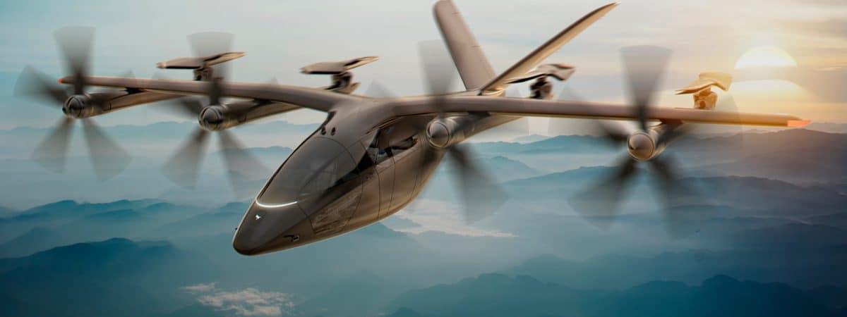 carro voador elétrico VA-X4