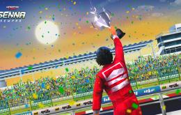 Ayrton Senna é homenageado em nova expansão de 'Horizon Chase'