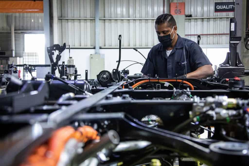 Fábrica da Volkswagen onde serão feitas baterias de Nióbio
