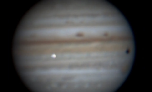 Impacto de asteroide com Júpiter registrado no Brasil