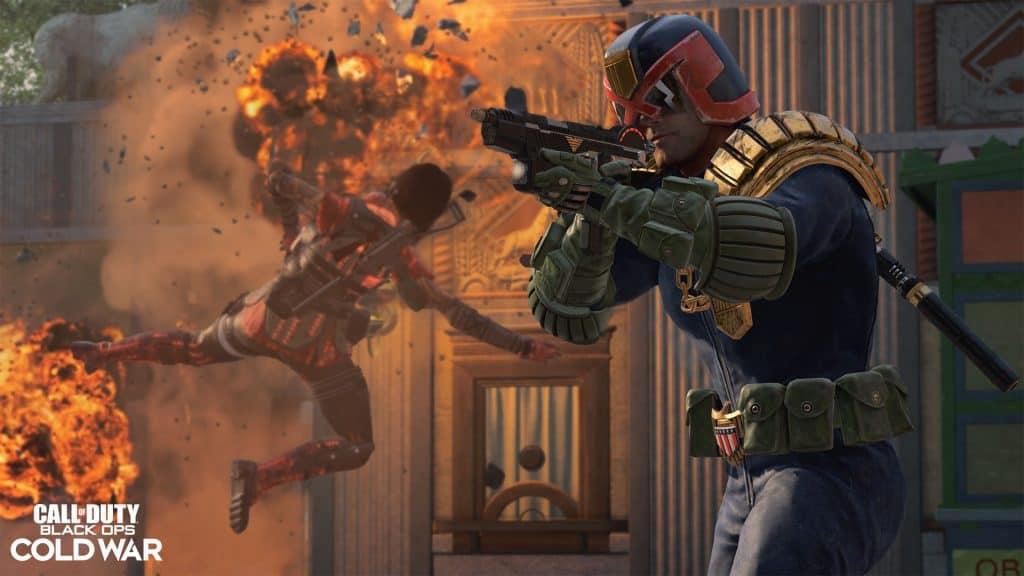 Juiz Dredd - Call of Duty
