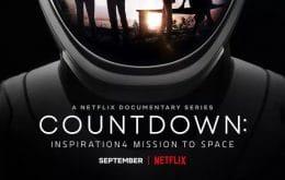 Netflix lança trailer de série documental da primeira missão totalmente civil da SpaceX