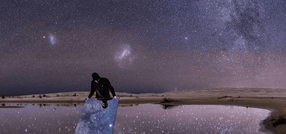 Night Sky Reflected - Fotografia brasileira escolhida como Foto Astronômica do Dia pela NASA