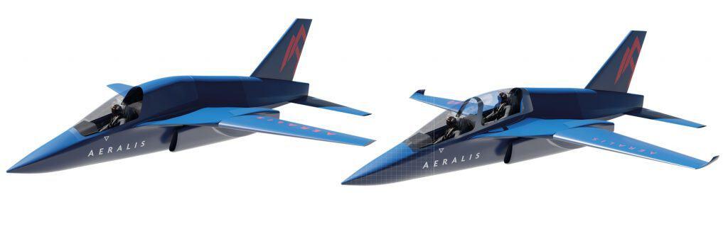 dois modelos de avião diferentes com a mesma fuselagem