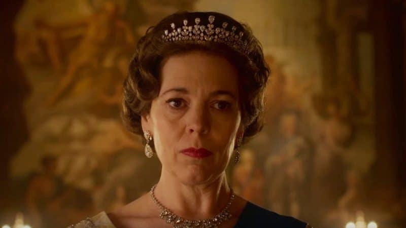 Olivia Colman como a Rainha Elizabeth II