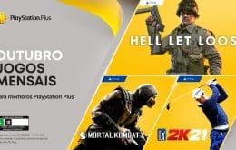 PS Plus: confira os jogos gratuitos de outubro