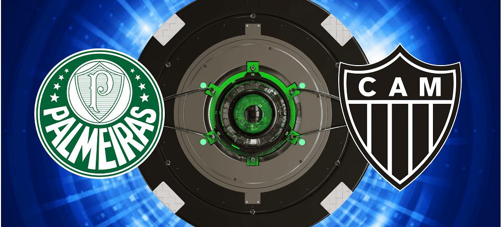 Escudos de Palmeiras x Atletico-MG