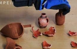 IA vai restaurar artefatos históricos danificados pela erupção do Monte Vesúvio