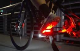 Los pedales de bicicleta LED prometen mantener a los ciclistas más seguros
