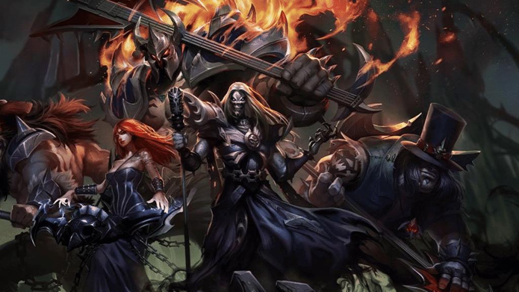 Pentakill é uma banda de heavy metal dentro do jogo 'League of Legends'