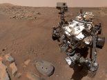 Perseverance tira selfie no local de retirada de amostras em Marte