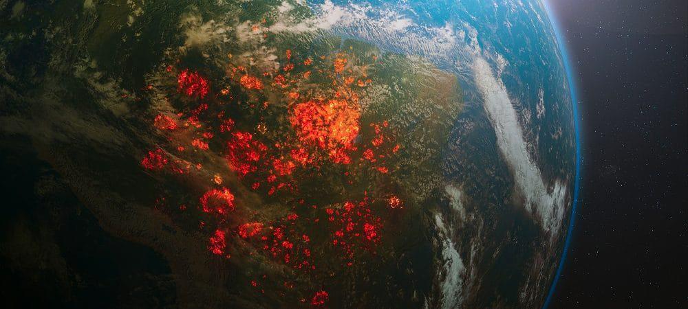 Ilustração do planeta Terra: