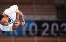 Gymnast Rebeca Andrade records video for 'Shang-Chi ea Lenda dos Ten Rings'