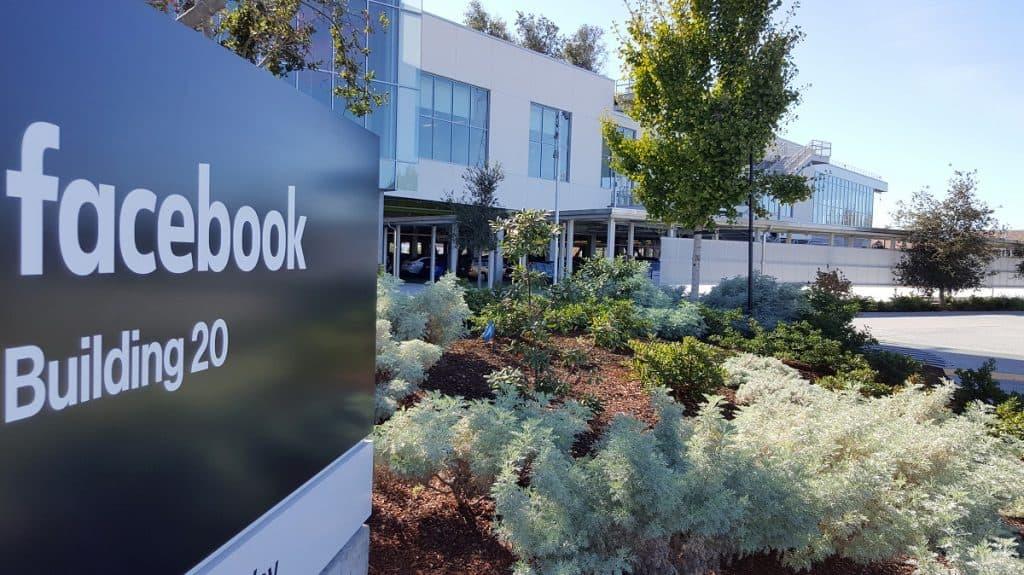 Sede do Facebook na Califórnia