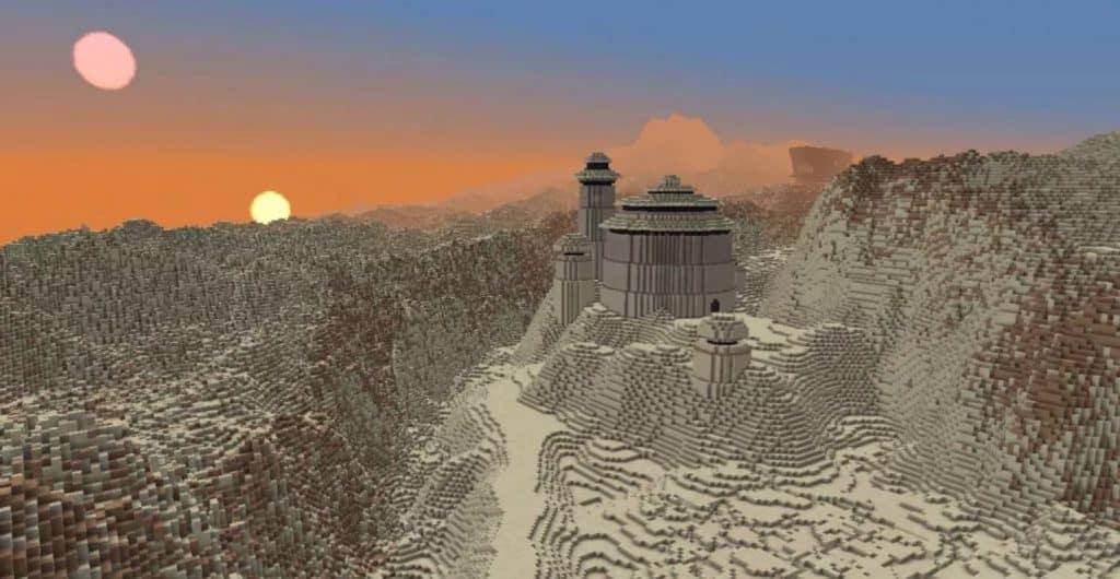 Star Wars em Minecraft por vistachess