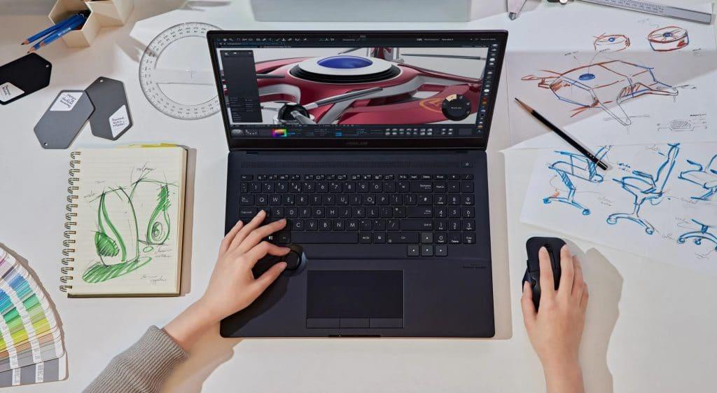 StudioBook 16 OLED (Imagem: divulgação/Asus)