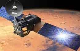 Marte: imagem do satélite TGO revela trincheira na região vulcânica do planeta