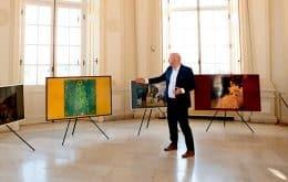 Samsung Frame recebe atualização com obras de Museu da Áustria