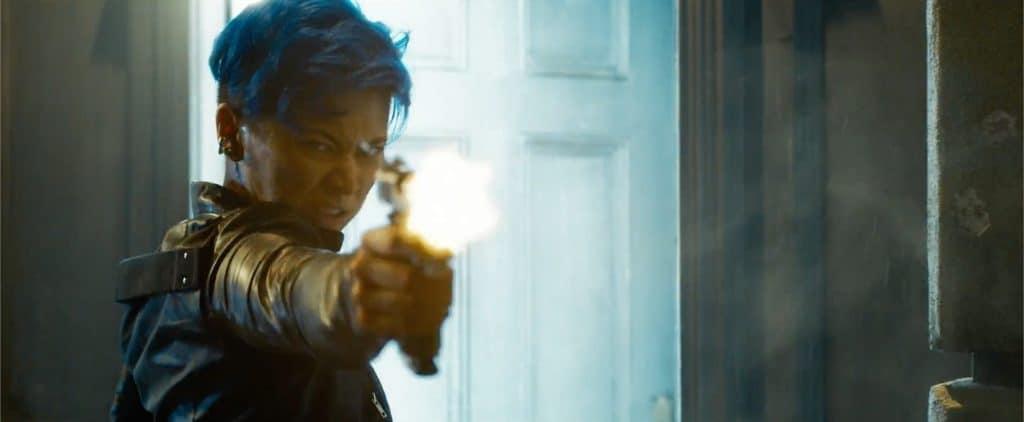 Jessica Henwick em 'The Matrix Resurrections'. Imagem: Warner Bros./Divulgação