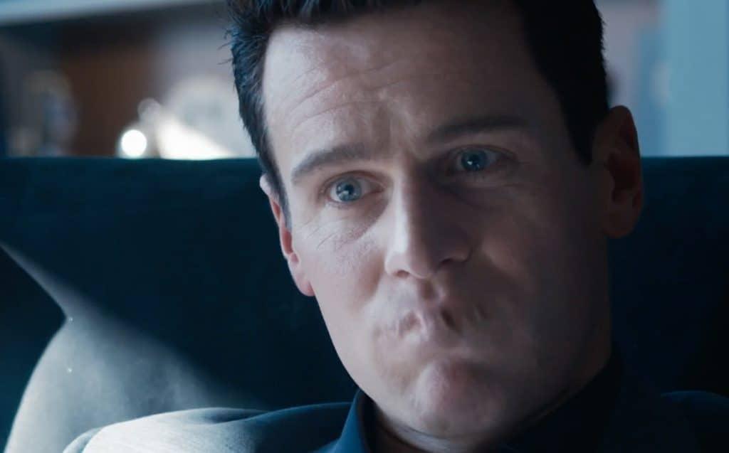 Jonathan Groff em 'The Matrix Resurrections'. Imagem: Warner Bros./Divulgação