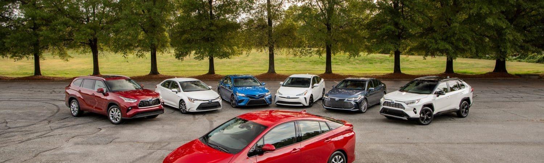 Autos Toyota eléctricos e híbridos
