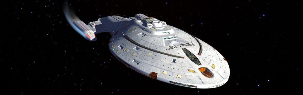 USS Voyager - star trek