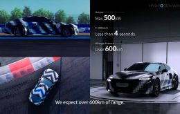Hyundai Vision FK: híbrido a hidrogênio promete superar Porsche em potência