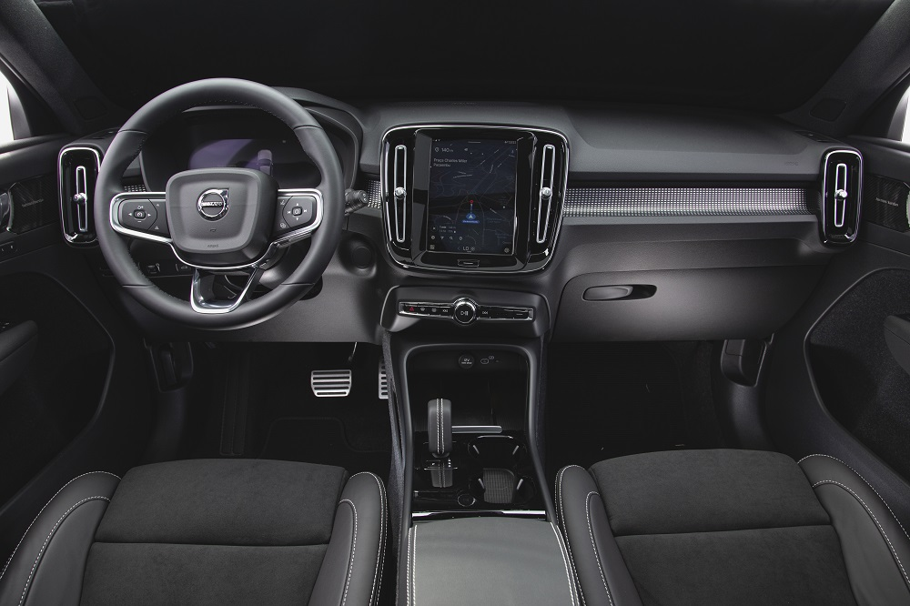 Interior do XC40 Recharge Pure Electric 3