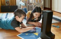 Amazon Glow projeta tela de 19 polegadas com jogos para crianças