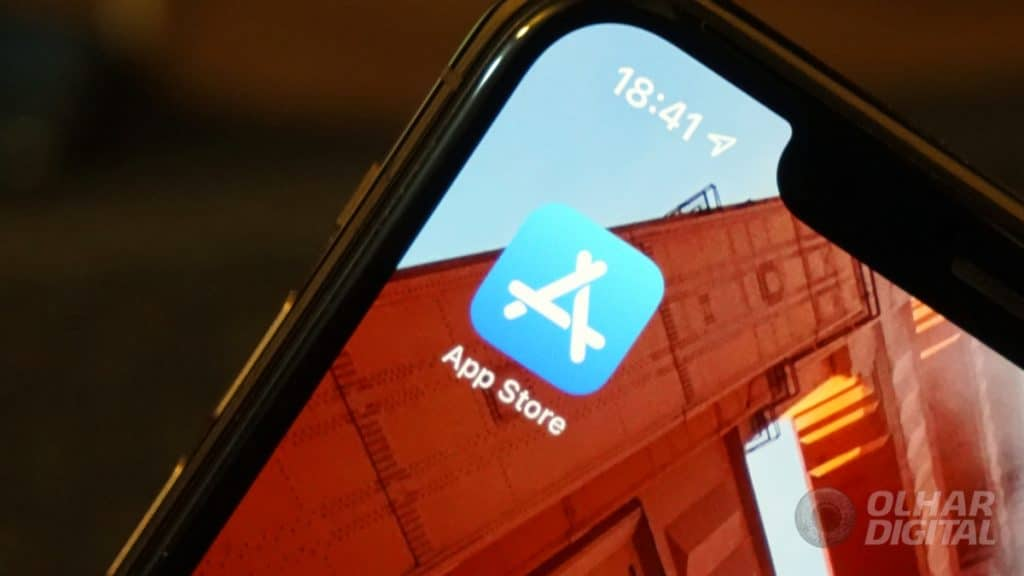 App Store no iPhone (Imagem: André Fogaça/Olhar Digital)