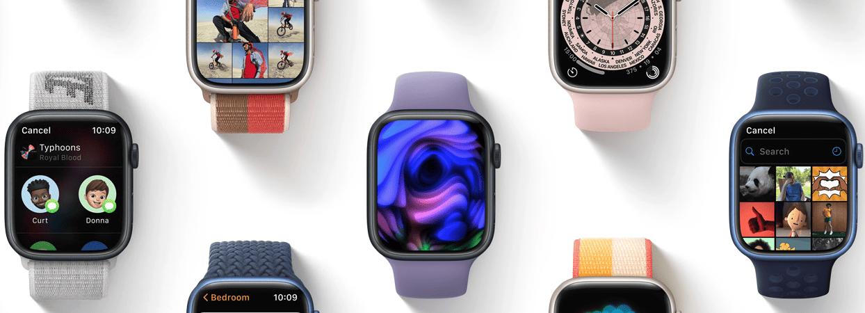 Apple Watch com o watchOS 8 (Imagem: divulgação/Apple)