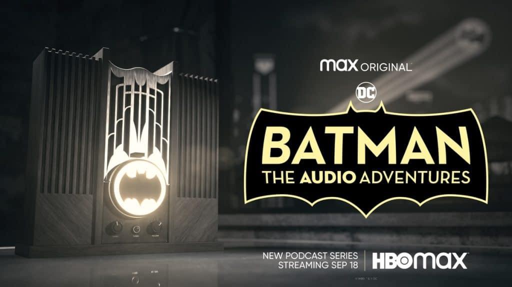 as aventuras em áudio do batman