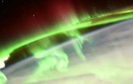 Astronauta de la ESA registra imagen de auroras boreales a bordo de la ISS
