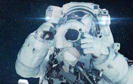 Astronauta da ISS capta linda imagem da borda da Terra