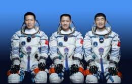 """De volta pra casa: """"Taikonautas"""" completam primeira missão na estação espacial Tiangong"""