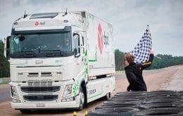 Caminhão elétrico bate recorde de distância percorrida em carga única