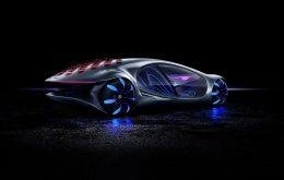 Mercedes demonstra carro com controle mental