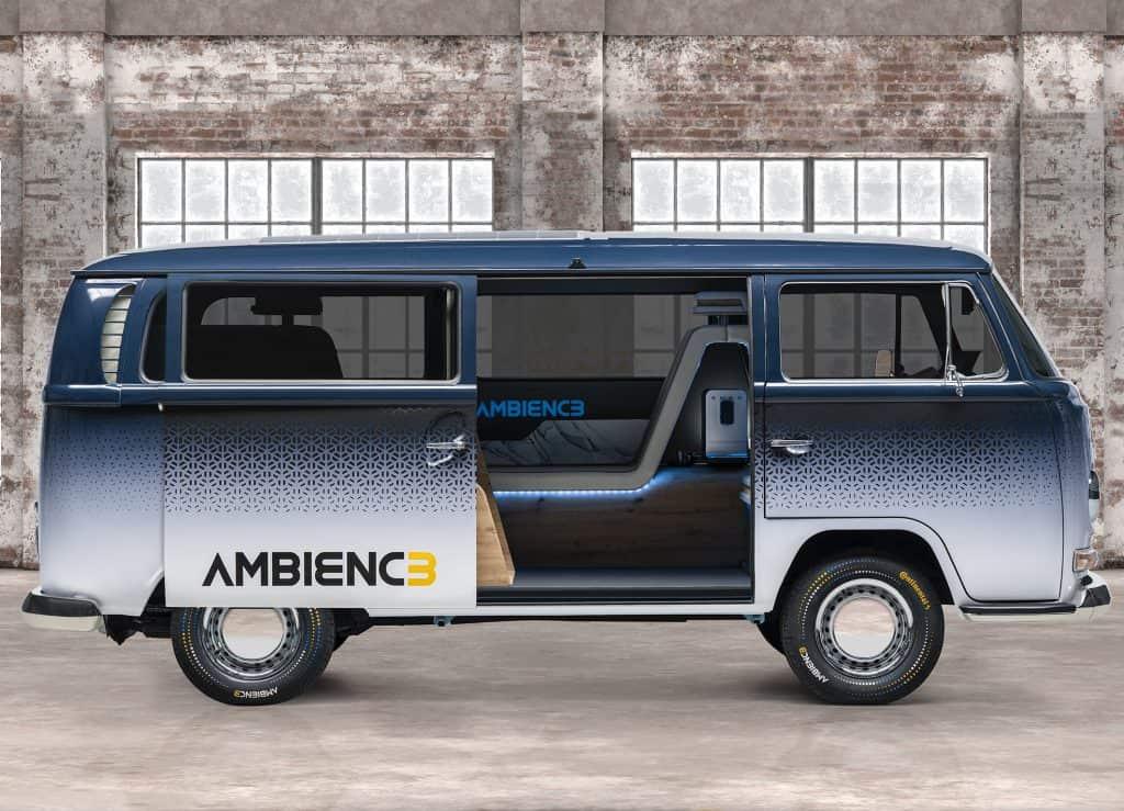 Carro-conceito Ambienc3 é uma Kombi