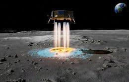 Projeto Artemis: Nave pode construir plataforma de pouso enquanto desce na lua