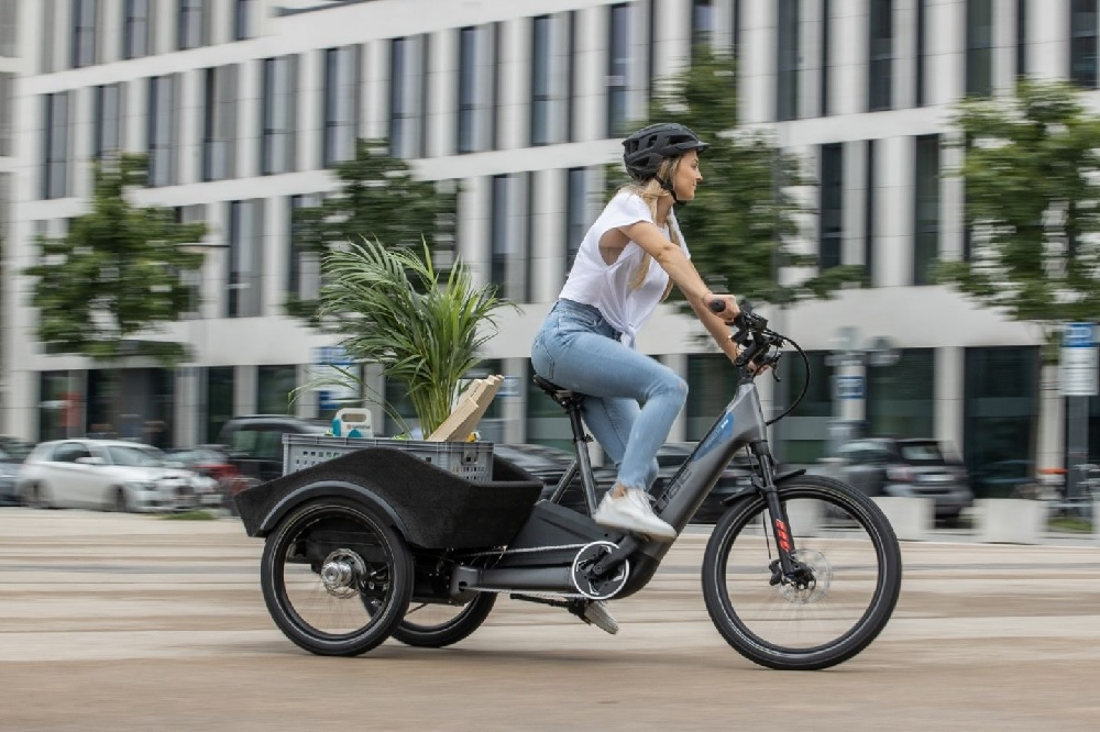 Cube Dynamic Cargo, triciclo elétrico de carga
